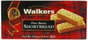 Walkers Shortbread 250g pack of 6 £6.75 Amazon  (add on item / £20 spend) Deal of the day