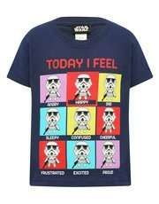 Star Wars Stormtrooper Feelings T-Shirt 3-12yrs was £7-£9 now £4.20 - £5.40 Delivered @ M&Co