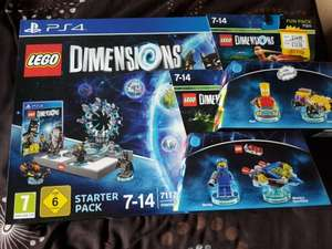 Lego Dimensions Starter Pack + Benny Fun Pack + Bart Simpson Fun Pack for £49.99 (PS3/X360/Wii U) or £59.99 (PS4/Xbox One) at Smyths Toys (instore and online)