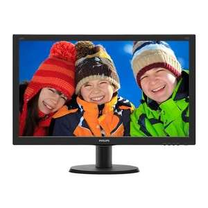 "Philips 24"" IPS HDMI Input with Speakers £83.99 + £4.99 del at Misco"