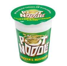 Pot Noodles for 45p at SemiChem - Thurso