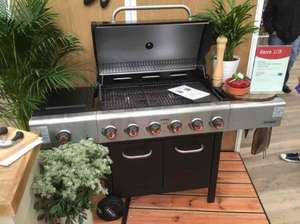 outback senator 6 burner BBQ with cover £366 - wyevale garden centres
