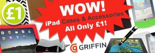 Griffin Ipad cases £1 @ Poundshop + £3 P&P