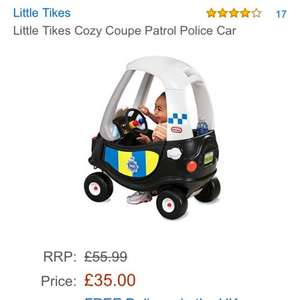 Little tikes police car £35 Amazon