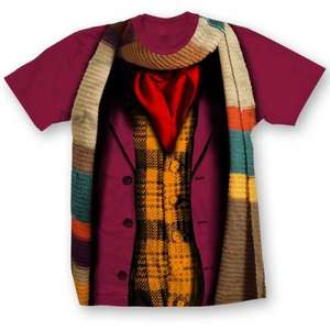 Doctor Who t-shirts - 4th doctor Style £5.99 forbiddenplanet.com