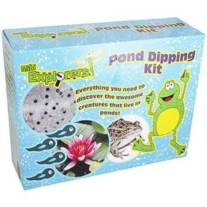 Kids Pond Dipping Kit was £8.99 now £2.40 (with code) C+C @ The Works (+ other cheap outdoor toys ie 1.2KG Tub of Marbles £2.40)