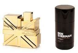 Mens Ben Sherman Gold EDT 50ml +  Ben Sherman Roll On Deodorant 75ml - £10 with Free C&C at The Fragrance Shop