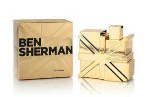 Ben Sherman Gold Eau de Toilette 100ml Spray £12.20 + £1.95 p+p @ perfume-click