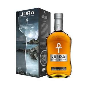 Jura Superstition Scotch Whisky  35cl £13 prime / £17.75 non prime @ Amazon