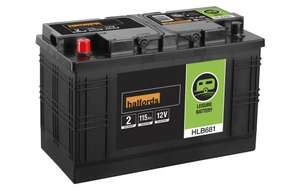 Leisure Battery 115Ah £89 delivered at Halfords