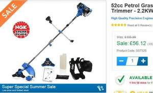 Petrol Brush Cutter / Strimmer £67.34 delivered @ SGS-Engineering