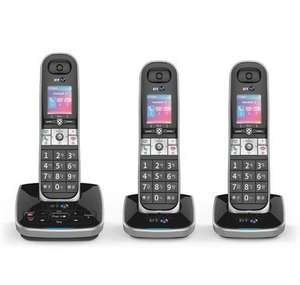 BT 8610 Digital Cordless Phone with Advanced Call Blocking, etc - TRIO = £50.98 (after £10 code + free del) @ Robert Dyas