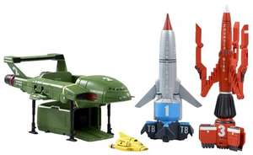 Thunderbirds Vehicle Super Set £11.99 Prime / £16.74 non prime @ Amazon