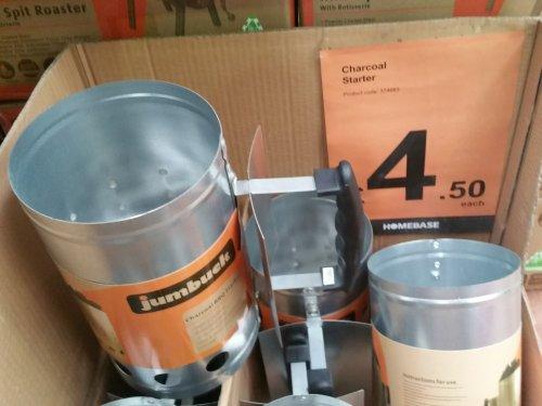Jumbuck BBQ Chimney Charcoal Starter £4.50 @ Homebase