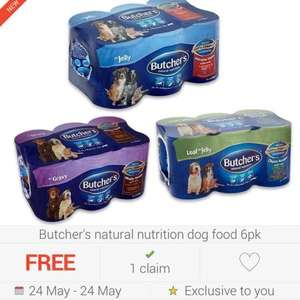 FREEBIE Butchers dog food (£2.50 @ Tesco) via checkoutsmart