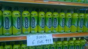 BOOST Energy Citrus Zing 6 x 500ml for 99p at Sam 99p Stores