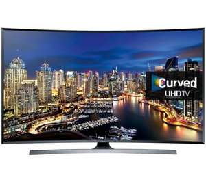 SAMSUNG UE48JU750048 inch Curved 4K Ultra HD 3D Smart LED TV Freeview HD freesat HD £699 richersounds