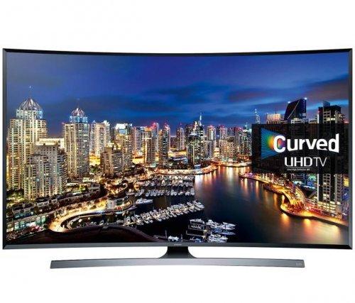 SAMSUNGUE48JU750048 inch Curved 4K Ultra HD 3D Smart LED TV Freeview HD freesat HD £699 richersounds