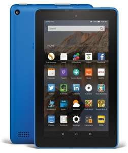 Amazon Fire 7 - 16GB Tablet  (Blue only) £39.99 @ Argos