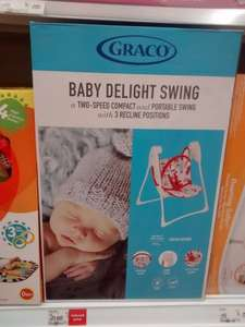 Graco baby swing £21.60 at asda Instore