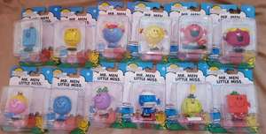 Mr Men/Little Miss Figures 99p each @ Home Bargains