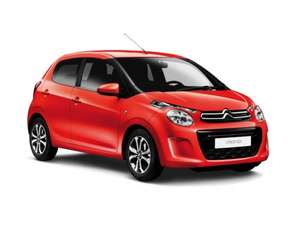 Citroen C1 Hatchback 1.2 PureTech Flair 5dr, personal lease, 24 months (3+23), 8 kpa, no admin fee, metallic paint, 118.04 per month all in, total £2832.96. @ Evans Halshaw