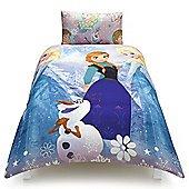 Disney Frozen Anna, Elsa and Olaf Kids Single Duvet Set. Was £14 Now £6.00,plus 3 for 2. Plus £2 C&C Only £4 per duvet @ Tesco