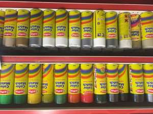 Colour match paints £2.00 at Motor World