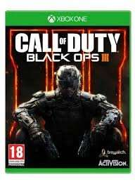 Call of duty black ops 3 on PS4 and xBox One £25 instore and online @ Tesco
