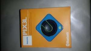 Philips Pix3l Portable Bluetooth Speaker reduced to £8 @ Asda