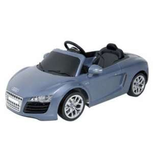 Audi R8 Spyder 6V Kids Electric Ride On Sports Car £75 Del @ Tesco Ebay Outlet