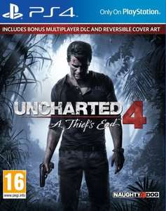 Uncharted 4: A Thief's End Launch Edition (PS4) £33.99 @ Shopto / eBay
