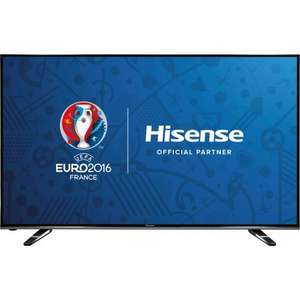 "Hisense H55M3300 55"" Smart 4K Ultra HD TV with HDR, 4 HDMI, 3 USB £459 @ AO.com [with code + £50 Trade in for ANY old TV + 1.57% TCB]"
