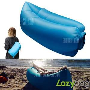 Inflatable Folding Sleeping Lazy Bag @ Gearbest - £23.80