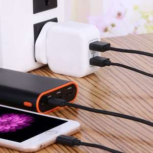 Buy 1 lightning cable 1M get 1 free 17W dual port charger @ Fulfilled by Amazon/Great Conqueror