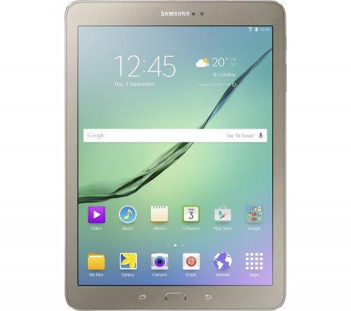 "SAMSUNG Galaxy Tab S2 9.7"" Tablet - 32 GB, Gold £289.00 @ Currys"