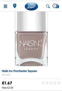 Nails Inc Porchester Square - £1.67 @ Boots