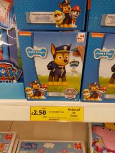 Paw Patrol paint you own figure £2.50 @ Tesco instore