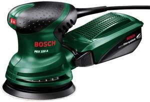 Bosch  PEX 220 A Random Orbit Sander £29.99 @ Amazon