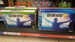 guitar hero live (ps4/xbox one) only £29.99 @ Sainsburys instore.