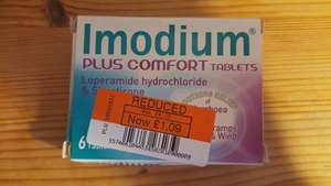Immodium Plus Comfort tablets reduced to £1.09 in Coop