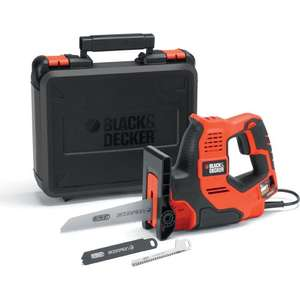 Black & Decker 500W Scorpion Reciprocating Saw RS890K - £35 Free Next day Click & Collect @ B&Q