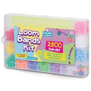 Loom bands kit (2500 loom bands) instore for 99p at Hawkins Bazaar Worthing