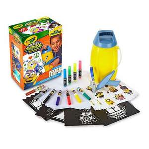 Crayola Marker Airbrush Art Set - Minions £12.50 / Crayola Marker Airbrush Art Set - Pink £11 @ The Entertainer (Free C&C)