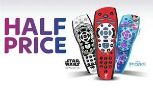 Half price Sky accessories @ Sky - Themed sky remotes from £12.49.