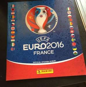 Free panini 2016 sticker album