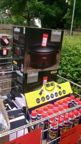 6.5 litre crofton professional slow cooker £8.99 @ aldi