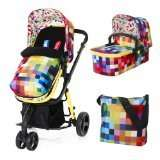 Cosatto 2 giggle travel system in pixilate amazon warehouse open box deal half price - £211.22