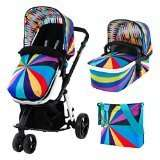 Cosatto giggle travel system in go brightly design amazon warehouse open box deal half price - £237.24