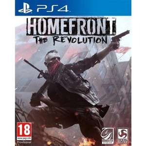 Homefront: The Revolution PS4/Xbox One £24.95 / New Super Mario Bros U + New Super Luigi U £14.95 @ The Game Collection